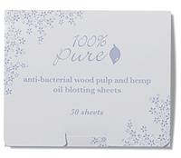 100% Pure Anti Bacterial Wood Pulp Oil Blotting Paper