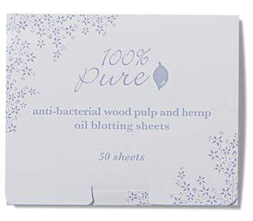 100% Pure Anti Bacterial Wood Pulp Oil Blotting Paper