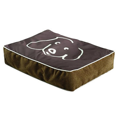 Crypton Doodle Dog Koala Rectangle Dog Bed Medium