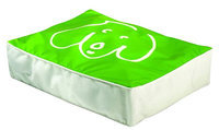 Crypton Doodle Dog Kermit Rectangle Dog Bed Medium