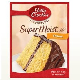 Betty Crocker™ Super Moist™ Favorites Yellow Cake Mix