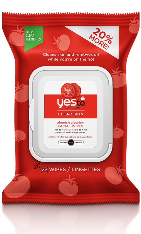 yes to® Tomatoes Blemish Clearing Facial Wipes