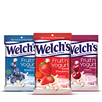 Welch's® Fruit N' Yogurt Snacks