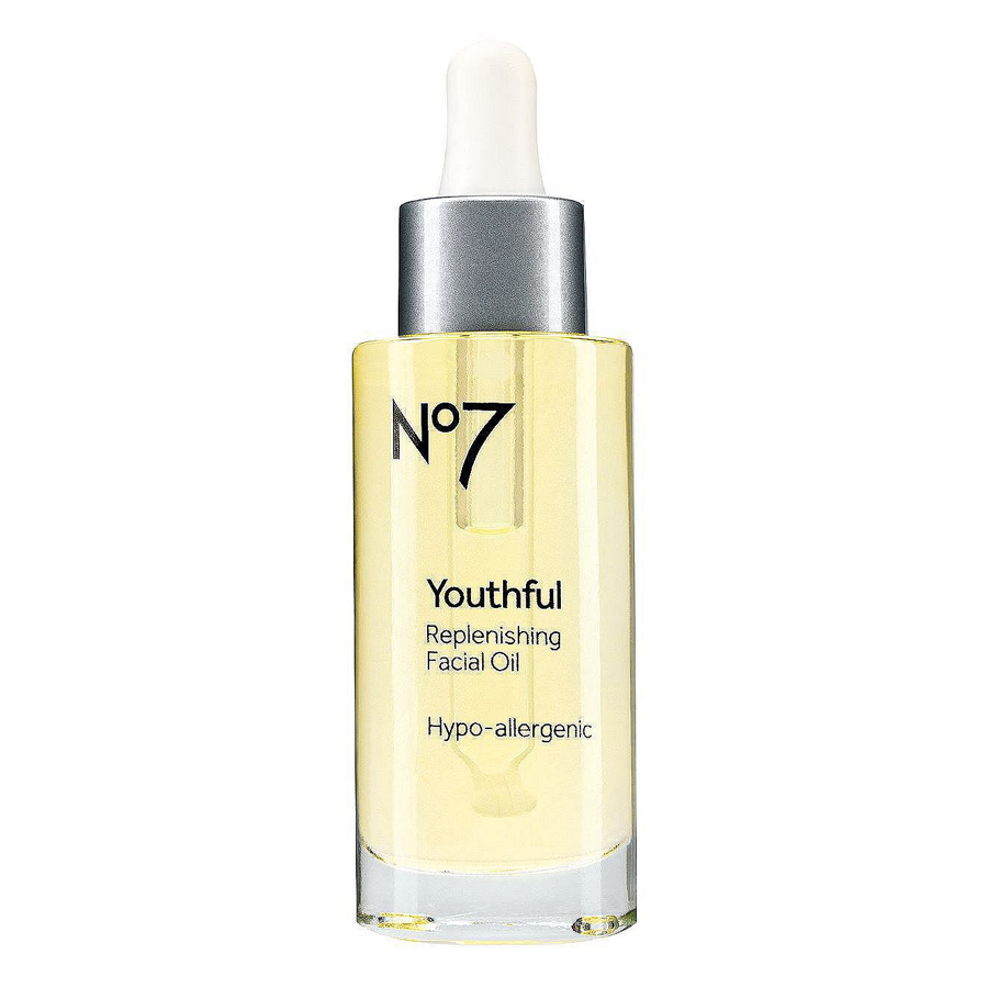No7 Youthful Replenishing Facial Oil