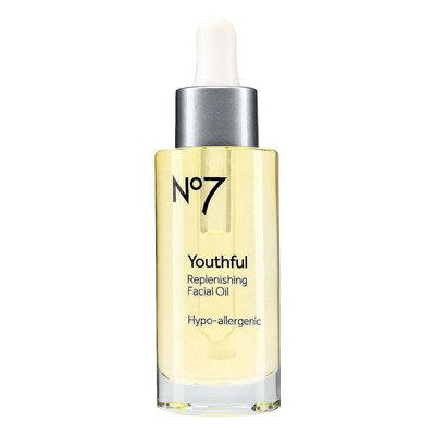 No7 Youthful Replenishing Facial Oil