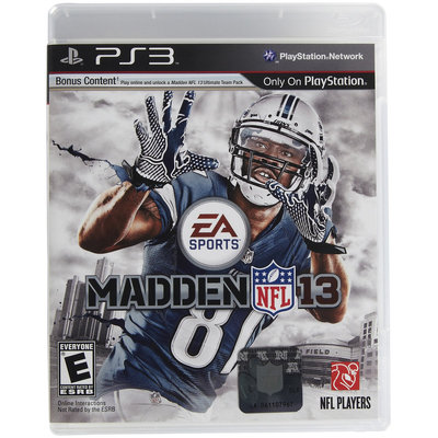 EA Madden NFL 13 PS3
