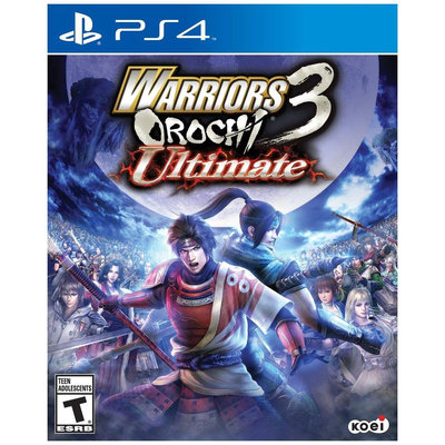 Tecmo Koei Warriors Orochi 3 Ultimate - PS4