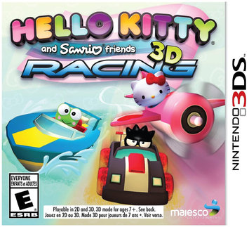 U & I Entertainment Hello Kitty And Sanrio Friends 3d Racing - Nintendo 3ds