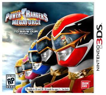 mco Video Games Namco Bandai Games 70046 Power Rangers Megaforce 3ds