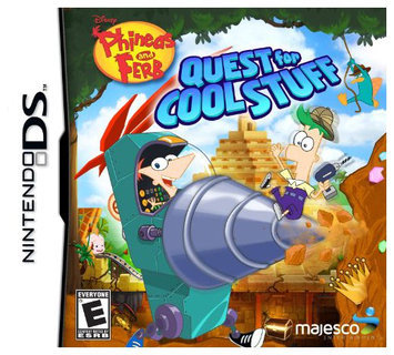 Majesco Phineas & Ferb: Quest For Cool Stuff DS