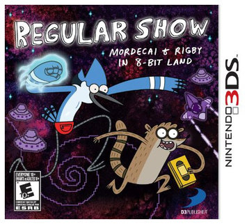 D3 Publisher Of America 30611 Regular Show Mordecai 3ds