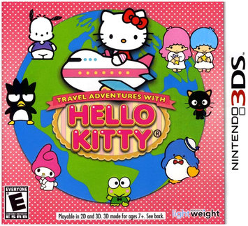 Bergsala Lightweight Travel Adventures with Hello Kitty for Nintendo 3DS