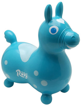 Gymnic Rody Inflatable Hopping Horse - Teal