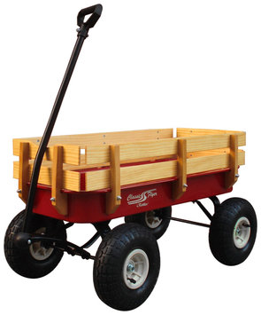 Kettler Classic Flyer Steel & Wood Wagon - 1 ct.