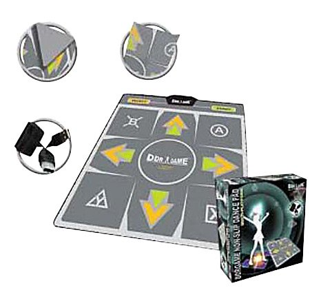 Ddrgame DDR Game PS2 USB Energy Non-Slip 4 in 1 Dance Pad (Playstation 3)
