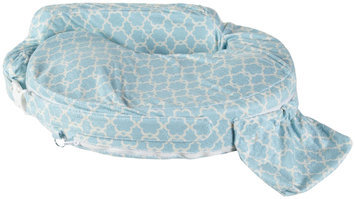 My Brest Friend Deluxe Nursing Pillow - Flower Key Sky Blue - 1 ct.