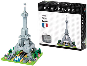 nanoblock Eiffel Tower (200 pc)