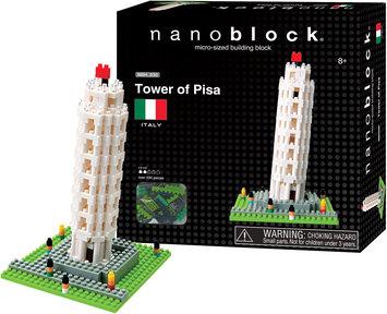 nanoblock Sites to See Plus - Tower of Pisa