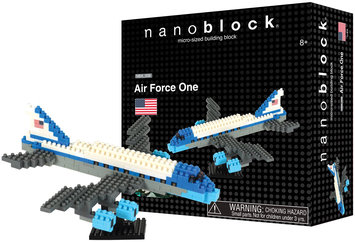 nanoblock Sites to See Plus- Air Force One