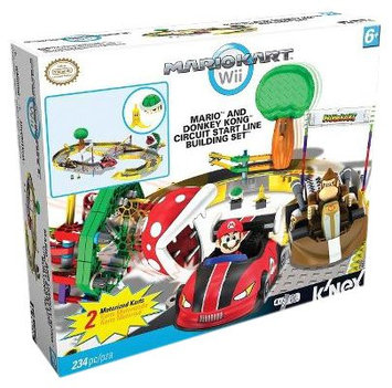 K'Nex Mario And Donkey Kong Circuit Start Line Building Set