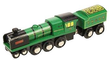 Bigjigs Toys Bigjigs Heritage Collection Typhoon Train Engine