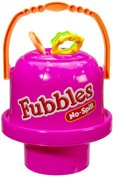 Little Kids Inc. Fubbles Pink No Spill Big Bubble Bucket
