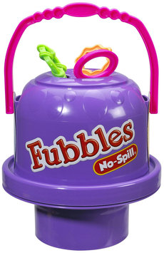 Little Kids Inc. Fubbles Purple No Spill Big Bubble Bucket