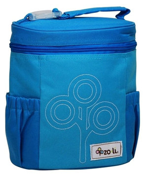 Zo-li Zoli Baby Nom Nom Lunch Bag Nylon - Blue