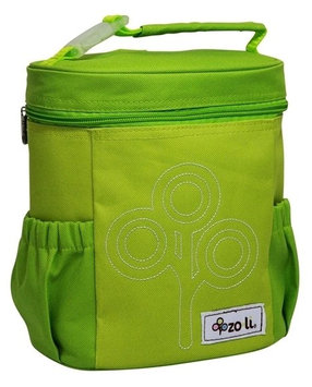 Zo-li Zoli Baby Nom Nom Lunch Bag Nylon - Green