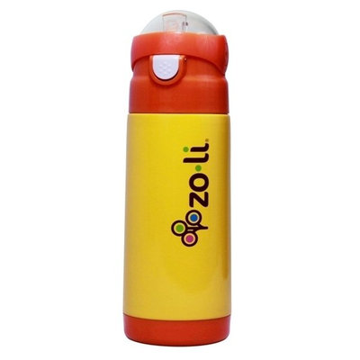 Zoli Baby Dash Vacuum Insulated Water Bottle - Orange - 12 oz
