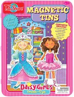 T.s. Shure Shure Products Daisy Girls Magnetic Tin Playset