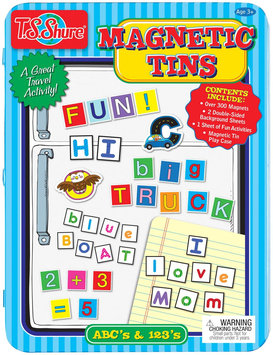 T.s. Shure Shure Products Alphabet & Numbers Magnetic Tin Playset