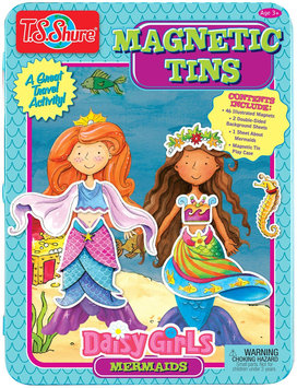 T.s. Shure Shure Products Daisy Girls Mermaids Magnetic Tin Playset