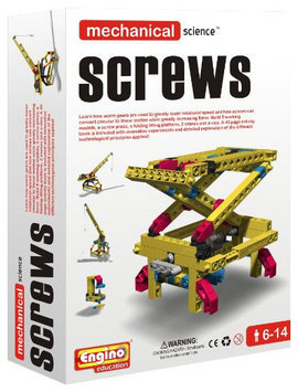Engino Mechanical Science: Screws - 1 ct.