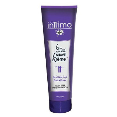 Wet Lubes Inttimo Shave Cream, Forbidden Fruit, 8 oz Tube