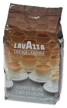 Lavazza Crema e Aroma Coffee Beans, 2.2 lbs Bag