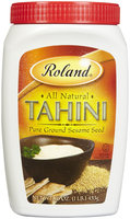 Roland Tahini (Pure ground Sesame seed), 16 oz Container