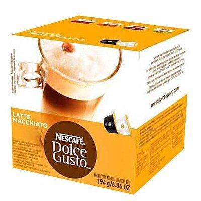 Krups Nescafe 27326 Coffee Pods, Dolce Gusto Latte Macchiato