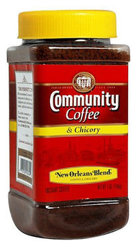 Community Coffee Coffee & Chicory, Medium Dark Roast, 7 oz Jars, 4 pk