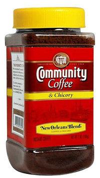 Community Coffee Coffee & Chicory, Medium Dark Roast, 7 oz Jars, 4 pk