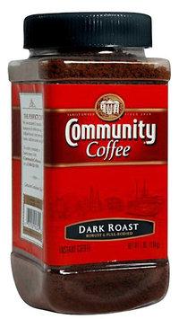 Community Coffee Instant Coffee, Dark Roast, 7 oz Jars, 4 pk