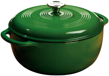 Lodge Color Enamel 6 qt Dutch Oven, Emerald Green
