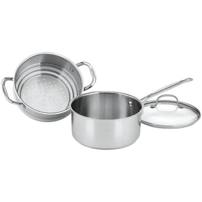 Cuisinart 77-35CG Chef's Classic 3 Quart Steamer Set 3pc