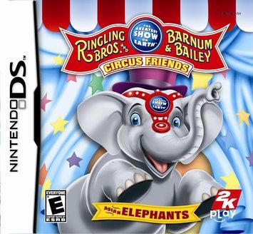 2K Games Ringling Bros. and Barnum & Bailey Circus (Nintendo DS)