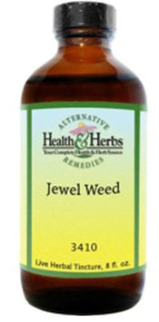 Alternative Health & Herbs Remedies Jewel Weed, 8 oz Bottle