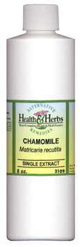 Alternative Health & Herbs Remedies Chamomile, 8 oz Bottle