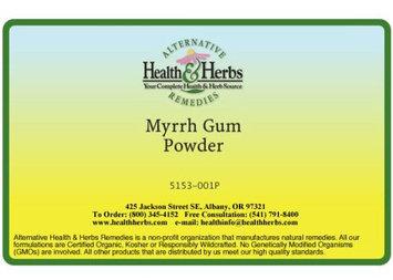 Alternative Health & Herbs Remedies Myrrh Gum Powder, 1 lb Bag