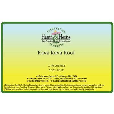 Alternative Health & Herbs Remedies Kava Kava Root, 1 lb Bag