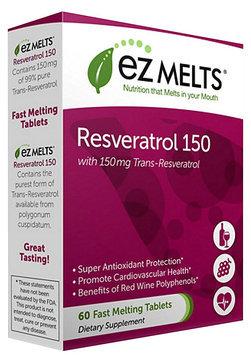 EZ Melts EZ Melts Resveratrol 150-60-Tablets