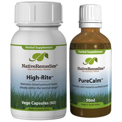 Native Remedies High-Rite and Pure Calm ComboPack
